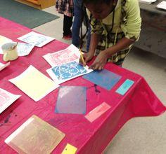 Printmaking at Fort River - The Eric Carle Museum