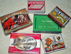 The most diverse graphics on pen nib boxes is the Geo.W. Hughes . England  Judith Walker's Collection