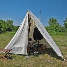 Civil War Officer's Tent #2 | Flickr - Photo Sharing!