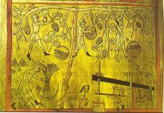 Agricultural work. Illustration Apocalypse Lorvão (1189)