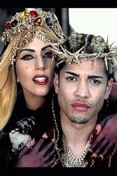 Jesus Thorn Crown (replica) as seen in Lady Gaga's Judas video and Vogue Hommes Japan F 2011 on Etsy, $495.00