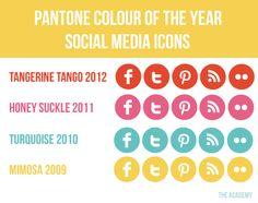 25 Paquetes de Botones Sociales Gratis para Blog o Web ~ Con M de Marketing