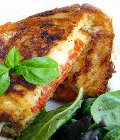 Pepperoni & Mozzarella 'Grilled Cheese'   Sweet Anna's