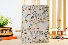 Light Yellow Weeping Willow Floral Flip Tablet by SereneLifeDesign, $29.99