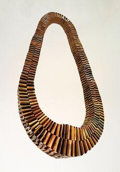 Catarina Hällzon; braided copper