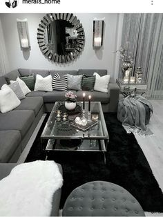10 Comfortable and Cozy Living Rooms Ideas You Must Check! - Hoomble - 10 Comfortable and Cozy Living Rooms Ideas You Must Check! – Hoomble Most comfortable and cozy living room ideas Casual Living Rooms, Glam Living Room, Living Room Decor Cozy, Simple Living Room, Living Room Grey, Living Room Interior, Modern Living, Small Living, Cozy Room