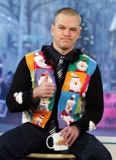 Ugly Xmas Sweater twist- a VEST! lol  @Markie Habros @Jill Meyers Nolan @Kait Heiny Lavis
