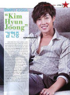 [SCANS] Kim Hyun Joong Scans from ASTA THAILAND Magazine ~ Only Kim Hyun Joong Brad Pitt, Leonard Dicaprio, Kim Joong Hyun, Ji Hoo, Hallyu Star, Big Crush, Boys Over Flowers, Korean Drama, Kdrama
