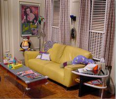 Friends: Joey/Chandler/Rachel's apartment