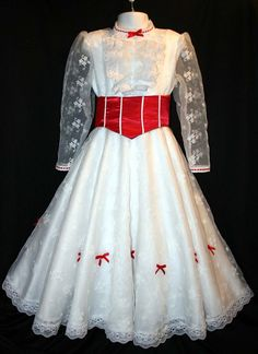 Mary Poppins Jolly Holiday Costume Dress Set