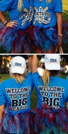 Pi Beta Phi - Welcome to the big league! #piphi #pibetaphi (MS Alpha)