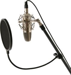 """Musicians Gear 6"""" Pop Filter. Attaches to any mic stand boom. Perfect for suppressing those popping 'P's on vocals."""