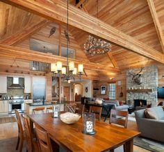 Beautiful Chalet Interior Designs