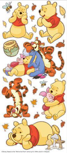EK Success - Disney Collection - Large Classic Stickers - Winnie the Pooh at Scrapbook.com $3.29