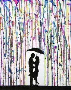 Umbrella & paint