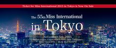 Miss International 2015 – Live Streaming Coverage Grand Prince, All Over The World, Infographics, Tokyo, Japan, Live, Tokyo Japan, Infographic, Japanese Dishes