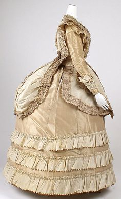 Late 1860s, Afternoon dress,The Metropolitan Museum of Art