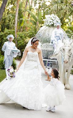 Disneyland Wedding Spotlight: Sabrina & OscarEver After Blog | Disney Fairy Tale Weddings and Honeymoon