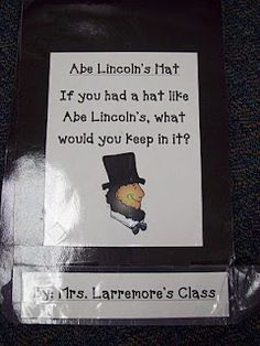 Writing: Abe Lincoln's Hat