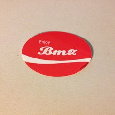 Enjoy BMX bike bicycle classic sticker by 4130apparel on Etsy