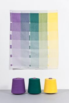 Indexing colour in the technique of weaving was the departure point of this research.