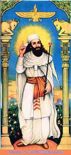 Zoroaster's Birthday ... fire, Ahura Mazda, worship, Khordad Sal, prophet Zoroaster Birthday