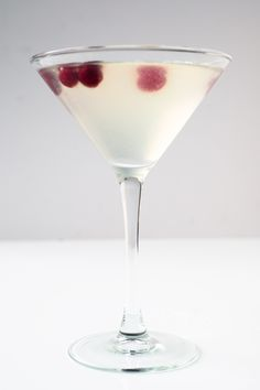 Restaurant Aquavit in New York City makes their signature aquavit with white cranberry and caraway. Its fruity, faintly herbal flavor makes a wonderful accent to sweet cocktails like this refreshing take on a Cosmopolitan.