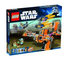 Lego Star Wars Anakins  Sebulbas Podracers 7962  2011 Release >>> Check this awesome product by going to the link at the image.