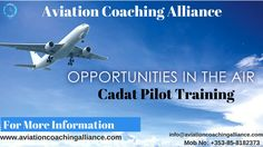 Aviation Coaching Alliance designed the Cadet Pilot Training Program. We deliver the coaching from start of the initial flight training to getting into the right-hand seat. Our this program is specially designed to provide the help to your Airline or ATO allowing your flight trainer to focus on what they are great at instructing. For Join our classes, Call at +353-85-8182373 or visit our website. Training Courses, Training Programs, Commercial Pilot Training, Pilot Career, Aviation Training, Personality Assessment, Airline Pilot, Interview Preparation, Training School