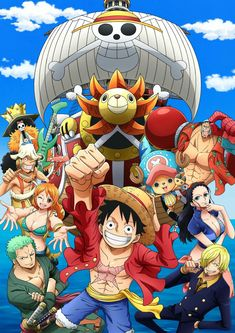 The straw hat pirates! One Piece Gif, One Piece Cosplay, One Piece Manga, One Piece New World, One Piece Crew, One Piece Drawing, One Piece Nami, One Piece Images, One Piece Pictures