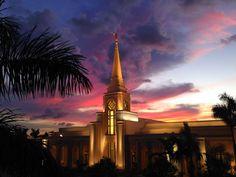 Ft. Lauderdale, Florida Temple <3