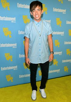 Kevin McHale at the Entertainment Weekly Party at Comic-Con in San Diego on July 14, 2012