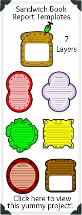 sandwich template for writing - 1000 images about school language arts on pinterest