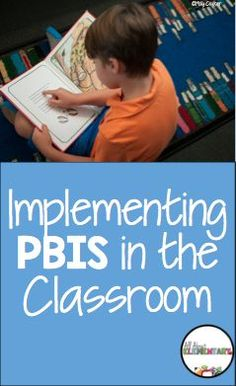 PBIS in the Classroom - PBIS (Positive Behavior Intervention and Supports) can be used in any elementary classroom. Click through to see five steps to help you start implementing PBIS in your Kindergarten, 1st, 2nd, 3rd, 4th, 5th, or 6th grade classroom today!