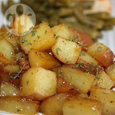 Geroosterde aardappelen met knoflook @ allrecipes.nl