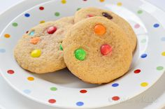 MM Cookies - fluffy, chewy and moist. There is a whole science behind it!