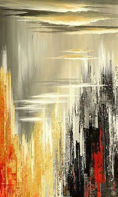 """Determine additional info on """"contemporary abstract art painting"""". Look at our website. Oil Painting Abstract, Abstract Canvas, Canvas Art, Painting Art, Contemporary Abstract Art, Modern Art, Art Rouge, Abstract Pictures, Montreal"""