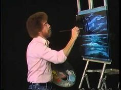 Bob Ross Painting Video   Blue Moon Low