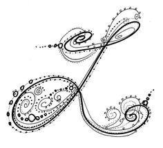 cool letter l design