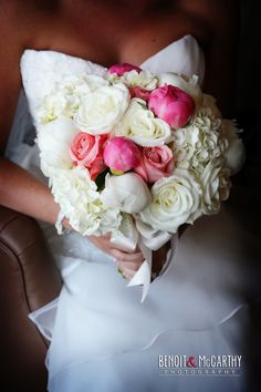 Beautiful bride's bouquet.