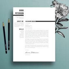 Resume Template / CV + Cover Letter  @creativework247