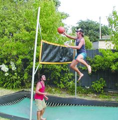 #BounceBall - even the big kids love the #inground #trampoline from…