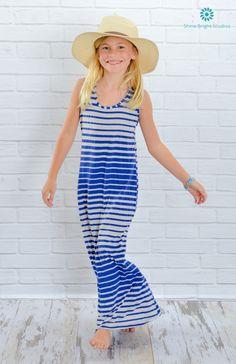 Maxi Stripe Dress