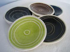 Plates. – Rae Dunn … clay -