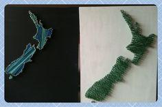 WellyMel: Hand made presents-String Art