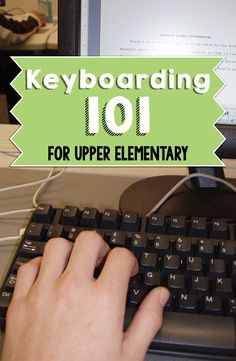 Keyboarding. When some students hear that word pure fear shakes through their bones. Their eyes widen, their palms get sweaty, and they slump in their chairs. But it doesn't have to be that way. We have our top 5 keyboarding tips that will help you have a successful keyboarding experience in your classroom.:
