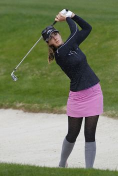 Golf Tips: Golf Clubs: Golf Gifts: Golf Swing Golf Ladies Golf Fashion Golf Rules & Etiquettes Golf Courses: Golf School: Girl Golf Outfit, Cute Golf Outfit, Sexy Golf, Girls Golf, Ladies Golf, Geek Chic Outfits, Golf Player, Golf Fashion, Ladies Fashion