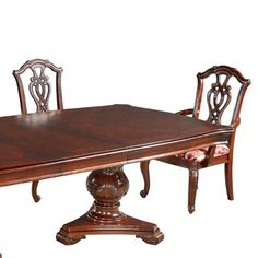Marsais Extendable Dining Table with 6 Chairs – Allissias Attic