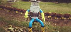 Innovators in Halifax, Nova Scotia have created HitchBOT, a hitchhiking robot programmed to appropriately respond to people asking it about its creation, journey and inventors.