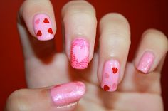♥ ♡ ❤ Nailstorming ❤ ♡ ♥ For World Heart Day by diamant sur l'ongle